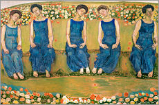 Wall sticker  The Holy Hour - Ferdinand Hodler