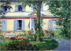 Wall Stickers  Country house in Rueil - Edouard Manet
