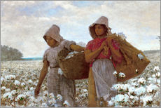 Wall Stickers  The Cotton Pickers - Winslow Homer