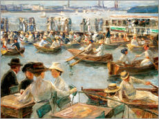 Gallery print  By the Alster River - Max Liebermann