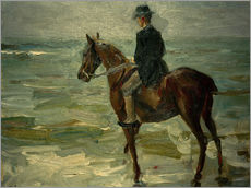 Wall sticker  Rider Along Sea - Max Liebermann