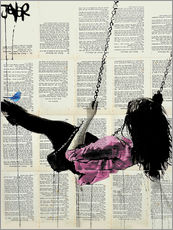 Wall sticker  where nothing matters (rose) - Loui Jover