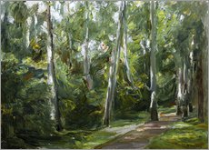 Wall sticker  Birch Grove in Wannsee - Max Liebermann