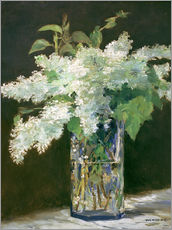 Wall Stickers  Lilac bouquet - Edouard Manet