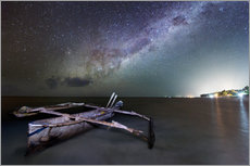 Wall sticker  zanzibar milky way - Vincent Xeridat
