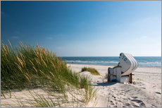 Wall Stickers  Beach with dunes and beach grass - Reiner Würz RWFotoArt