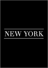 Wall sticker  NEW YORK | HORIZONTAL - Stephanie Wünsche