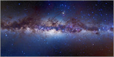 Wall Stickers  Milky Way, center - Alan Dyer