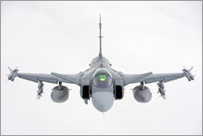 Gallery print  A Hungarian Air Force JAS-39 - Giovanni Colla
