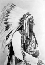 Gallery print  Sioux Chief - Sitting Bull - John Parrot