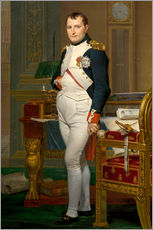 Wall sticker  Vintage painting of The Emperor Napoleon in his study. - John Parrot