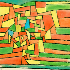 Wall Stickers  Garden by the stream - Paul Klee