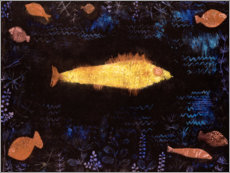 Premium poster  The goldfish - Paul Klee