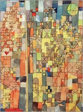 Wall Stickers  Dogmatic Composition - Paul Klee