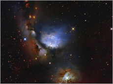 Wall sticker  Messier 78, a reflection nebula in the constellation Orion. - Roberto Colombari