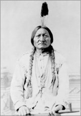 Wall sticker  Sioux Chief, Sitting Bull