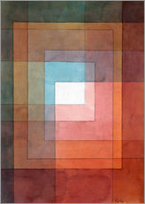 Gallery print  White framed polyphonically - Paul Klee