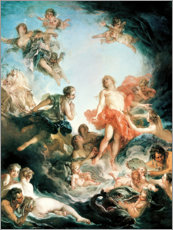 Gallery print  The rising of the sun - François Boucher