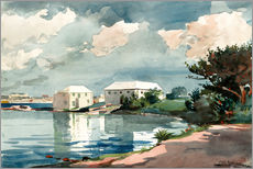 Gallery print  Salt Kettle, Bermuda - Winslow Homer
