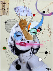 Wall Stickers  marylin for the abstract thinker  - Loui Jover
