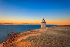 Gallery Print  Lighthouse in the dunes - Reemt Peters-Hein