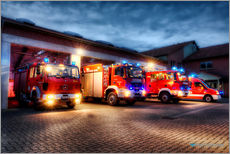 Gallery print  German Firetrucks - Markus Will