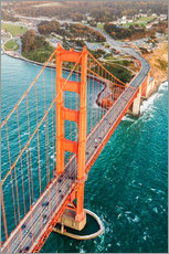 Matteo Colombo - Flying over Golden gate bridge, San Francisco, California, USA