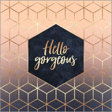 Wall sticker Hello Gorgeous