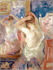 Wall sticker  In front of the mirror - Berthe Morisot