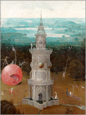 Wall Stickers  The Last Judgement, the earthly paradise (Detail) - Hieronymus Bosch