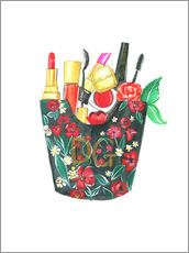 Wall sticker Make Up Bag