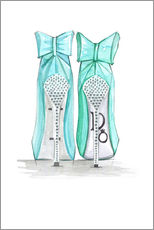 Gallery print  Tiffany's Shoes - Rongrong DeVoe