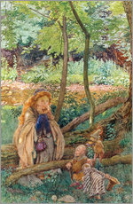 Wall sticker  The Introduction - Eleanor Fortescue-Brickdale