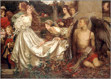 Wall sticker  The Uninvited Guest - Eleanor Fortescue-Brickdale