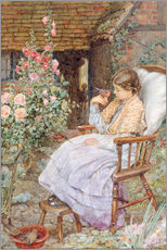 Wall Sticker  For What are the Voices of Birds… - Eleanor Fortescue-Brickdale