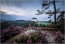 Wall sticker  Sunrise Saxon Switzerland - Sören Bartosch