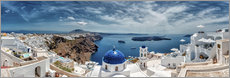 Wall sticker  Santorini panorama - Stefan Becker