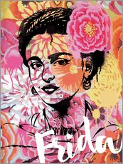 Wall sticker  Frida Pop Art - Nory Glory Prints
