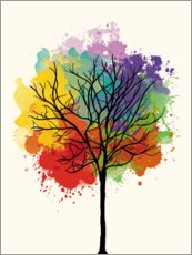 Gallery print  Watercolor tree - Nory Glory Prints