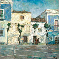 Gallery print  Houses in the sun - Ignacio Zuloaga Zabaleta