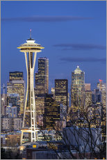 Gallery Print  Space Needle - Seattle - Thomas Klinder