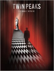 Gallery print  Twin Peaks, firewalk with me - Golden Planet Prints