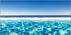 Wall sticker  Swimming Pool With A View - Sascha Kilmer