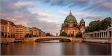 Gallery print  Berlin Cathedral - golden hour - Photovojac