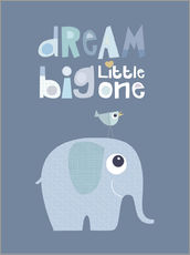 Gallery print  Dream big little one - Jaysanstudio