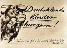 Wall Stickers  Germany's Children are starving - Käthe Kollwitz