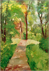 Gallery print  morning sun - Lesser Ury