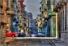Wall sticker  In the streets of Havana - HADYPHOTO
