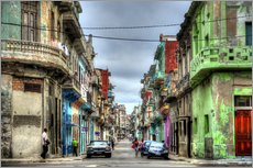 Gallery print  In the streets of Havana - HADYPHOTO