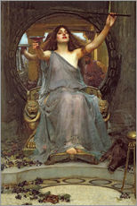 Gallery print  Circe Offering the Cup to Ulysses - John William Waterhouse